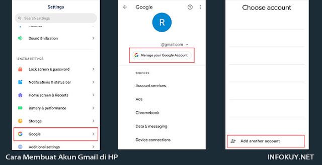 Cara Membuat akun Gmail di HP #1