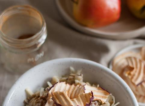 Śniadaniowo mi #33: Owsianka z jabłkami
