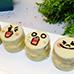 Line App Mr Moon Brownie Dessert