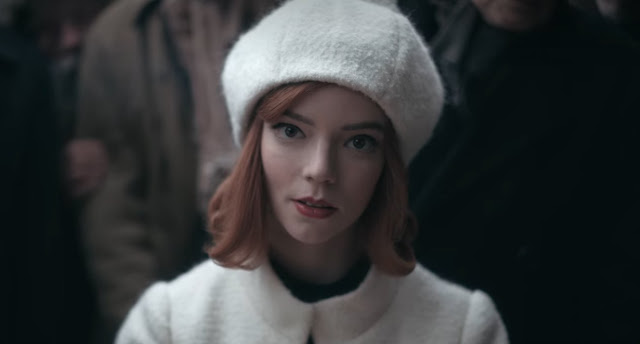 Anya Taylor-Joy Scott Frank | The Queen's Gambit on Netflix