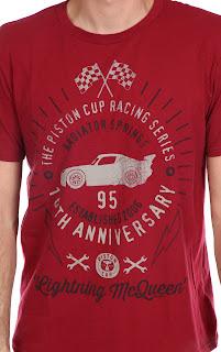 disney store pixar cars 10 year anniversary tee t-shirt