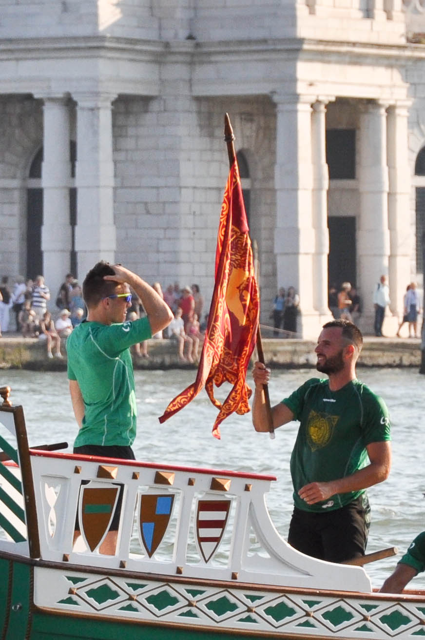 The winning team, Regatta of the Ancient Maritime Republics, Venice, Italy