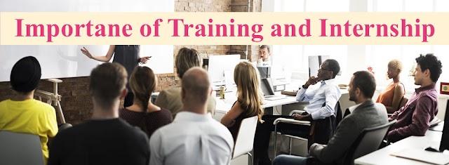 Importance of Training and Internship