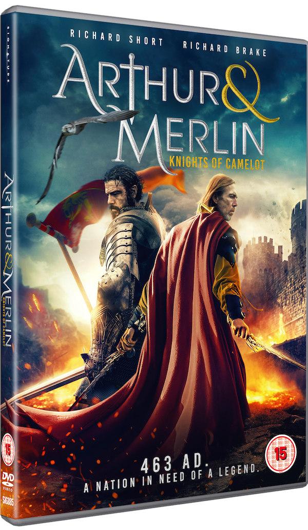 Arthur & Merlin: Knights of Camelot dvd