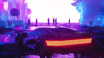Sci-Fi, Car, Digital Art, 4K, #140