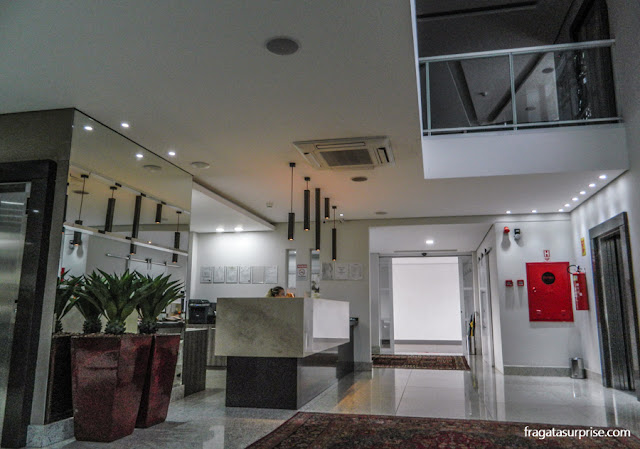 Lobby do Hotel Mohave, Campo Grande, Mato Grosso do Sul