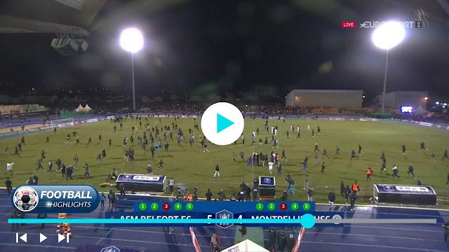 Belfort vs Montpellier – Highlights