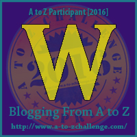 W is for: Water - A Wandering Vine #AtoZChallenge