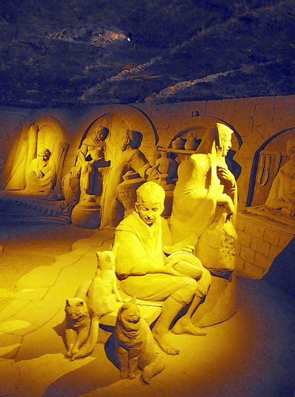 valkenburg sand sculptures