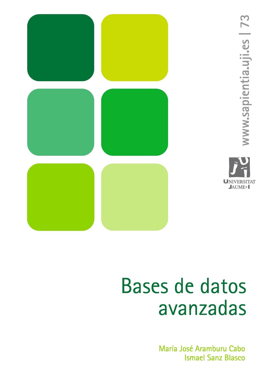 Bases de datos avanzadas