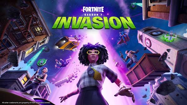 Reveladas diversas novidades sobre Fortnite Capítulo 2 Temporada 7: Invasão