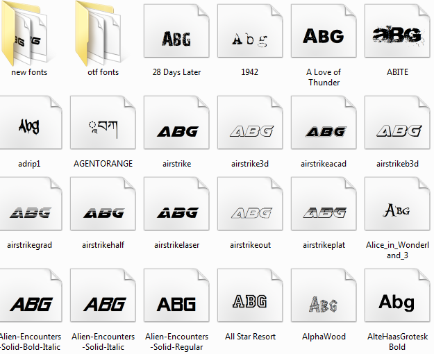 Download 500+ fonts packs free downloads By Aju photoshop