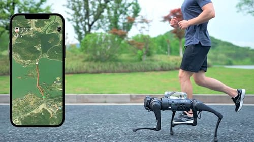 Unitree Go1..a four-legged robot at $2,700