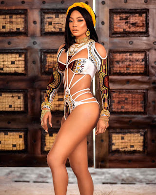 Toke Makinwa bikini bod photos