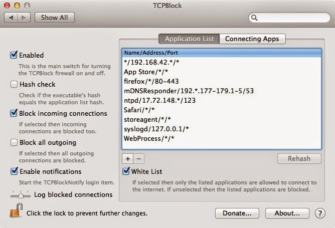 How to block outgoing connections on Mac OSX freely