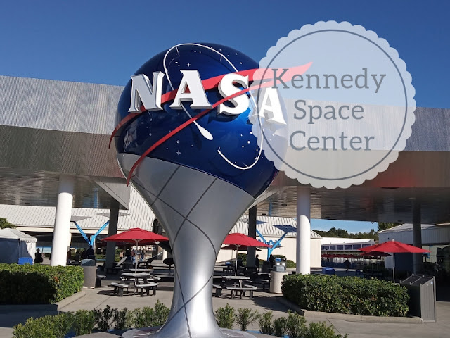 Kennedy Space Center a Cape Canaveral: logo della Nasa
