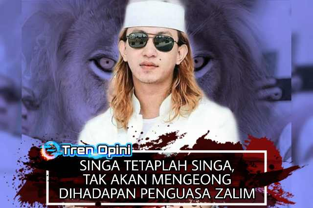 Singa tetaplah singa, Takan Mengeong dihadapan rezim