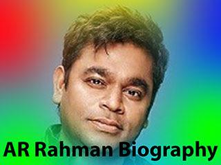 AR Rahman Biography