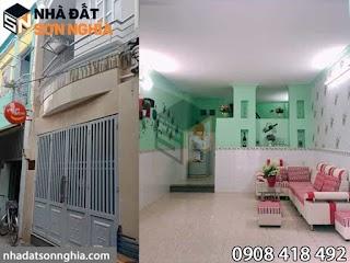 Bán nhà hẻm 49 đường số 51 phường 14 quận Gò Vấp - 4x11m giá 3,15 tỷ ( MS 048 )
