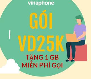 Gói VD25K Vinaphone