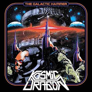 """Ο δίσκος των Kosmic Dragon """"The Galactic Hammer"""""""