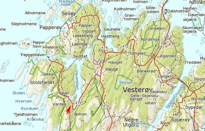 kart kråkerøy Klatrefører Guttormsvauen | Klatring på Hvaler kart kråkerøy