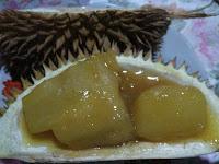 Cara Membuat Kolak Singkong Rasa Durian