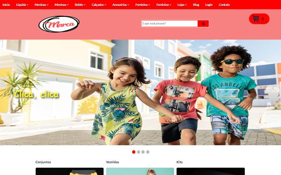 Template Blogger PagSeguro - E-commerce não É WordPress