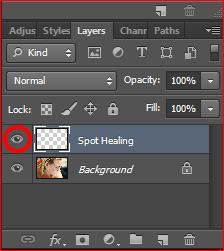 Cara menghikangkan jerawat di photoshop