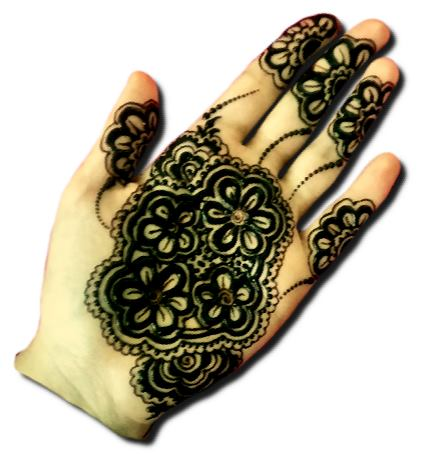 Pakistani Mehndi Designs for Front Hand
