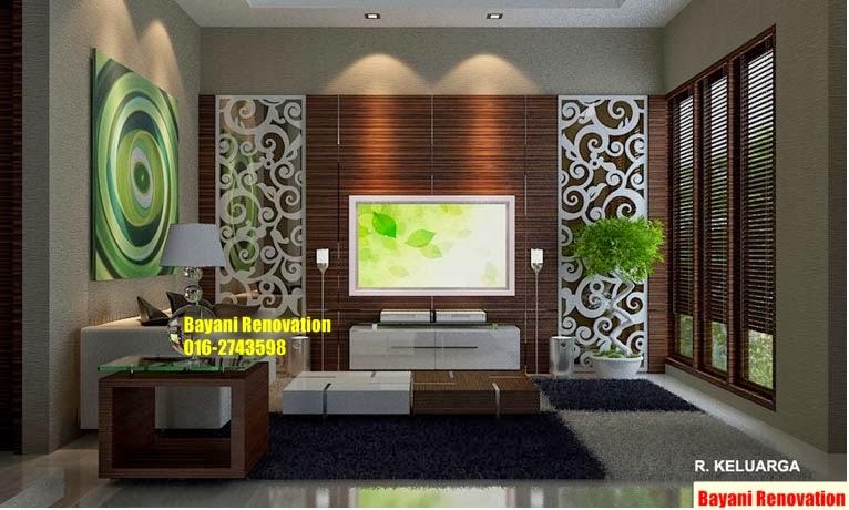Design Interior Rumah Teres