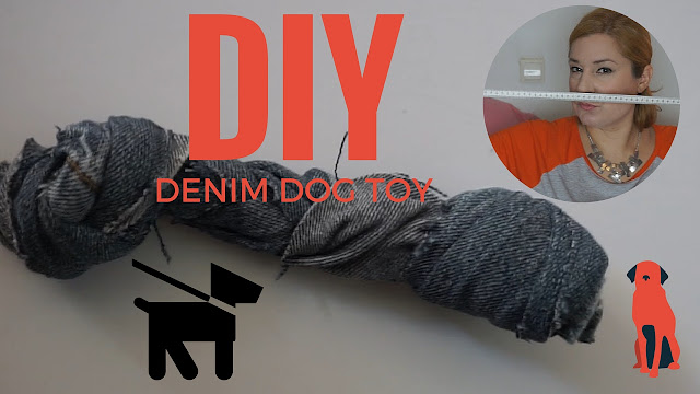 DIY DENIM DOG TOY