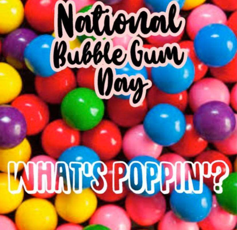 National Bubble Gum Day Wishes For Facebook