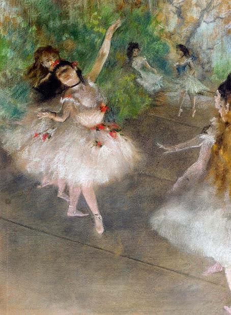 Paintings Of Spring Edgar Degas 19 Iulie 1834 27 Septembrie 1917 Pictor Francez