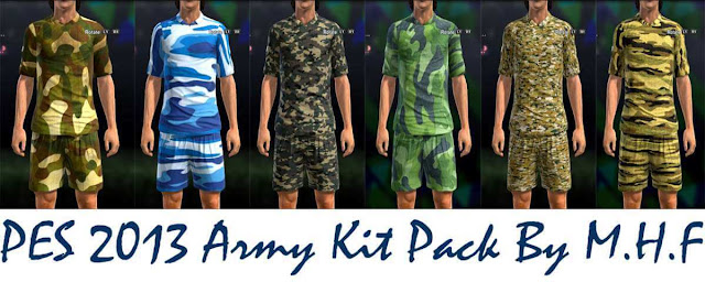 Army Kit For PES 2013