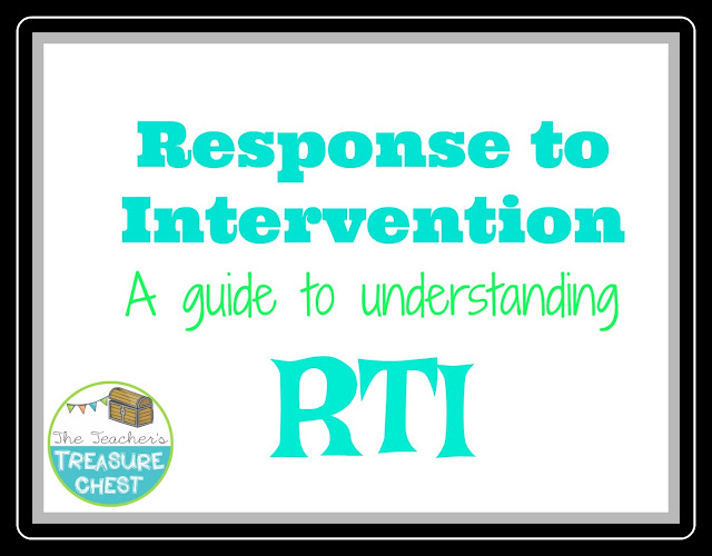 Response to Intervention tips for teachers and parents