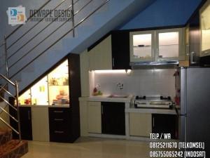 kitchen set bahan dengan bahan hpl malang