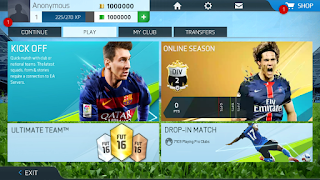 FIFA 16 High Graphics Mod Android