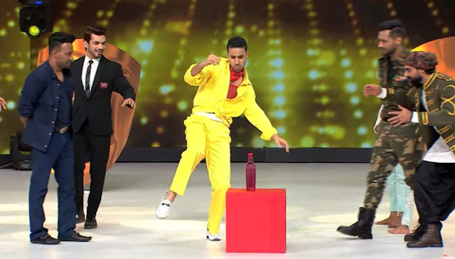 Raghav Dharmesh Punit Dance Deewane 2