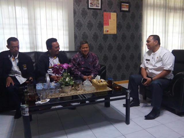 Bangun Silaturahim, Pengurus DPC Medan Tembung  Bertemu Camat