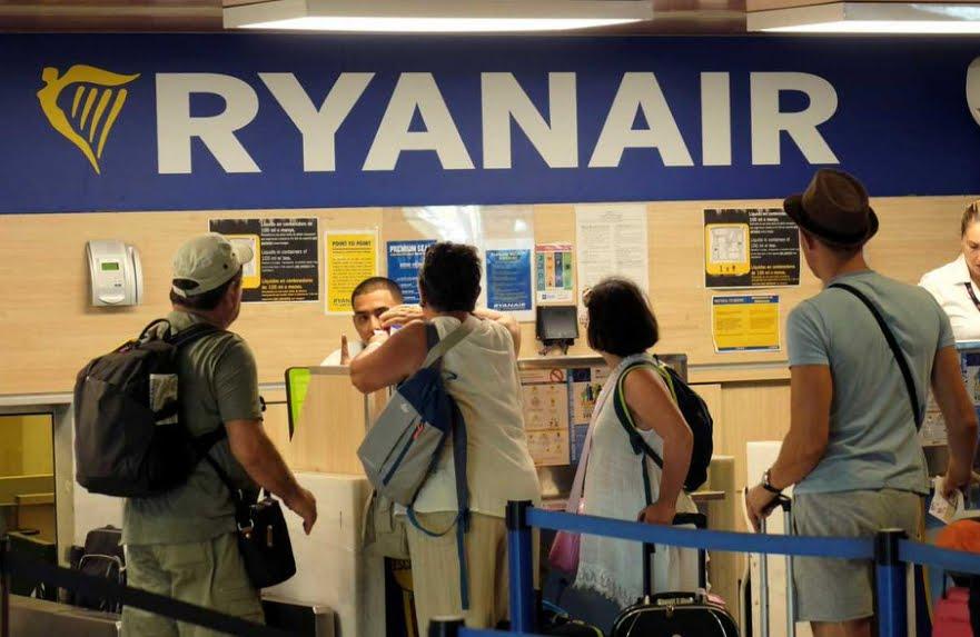 Sciopero RyanAir venerdì 10 agosto.