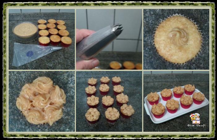 Cupcake de guaraná e doce de leite 7