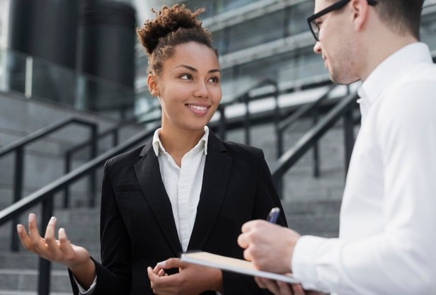 Relação Saudável entre um gestor e uma colaboradora
