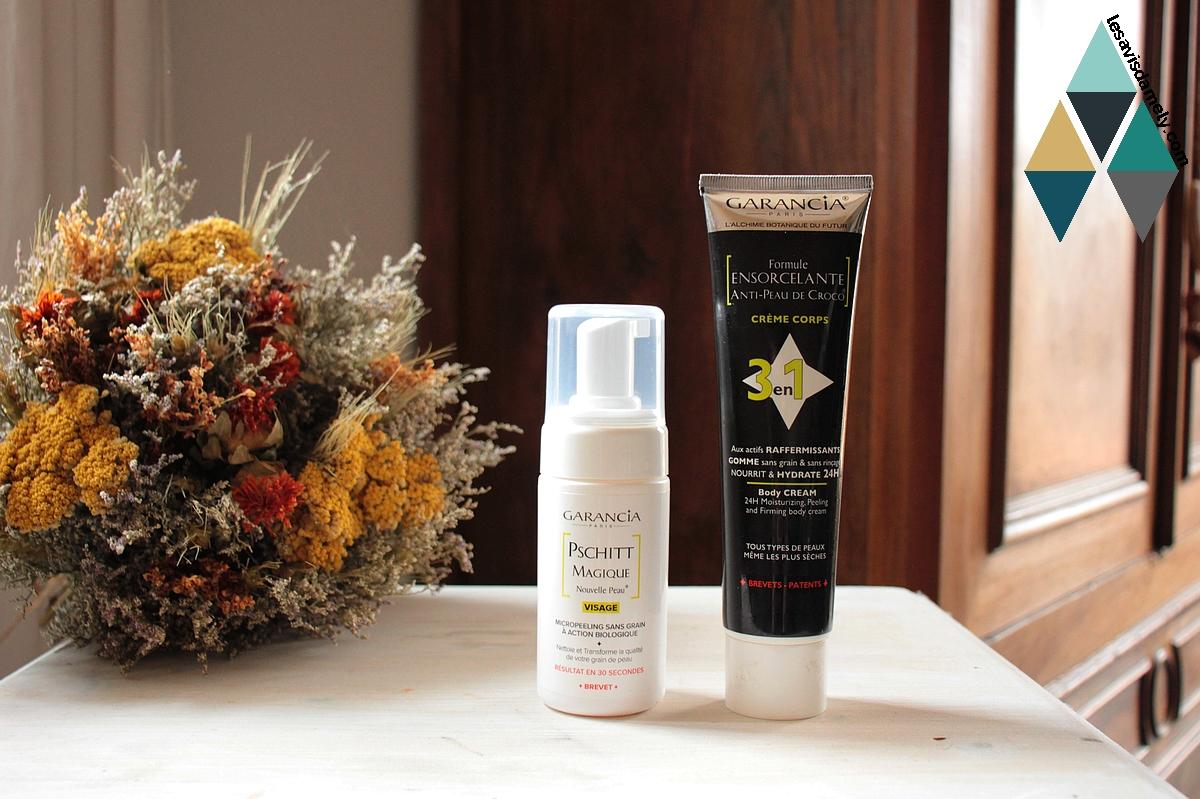 avis et test soin naturel routine beauté garancia