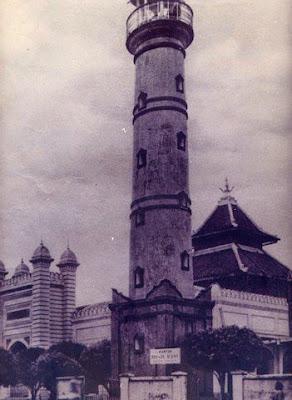 Foto Masjid agung jami Pekalongan Jaman Dulu