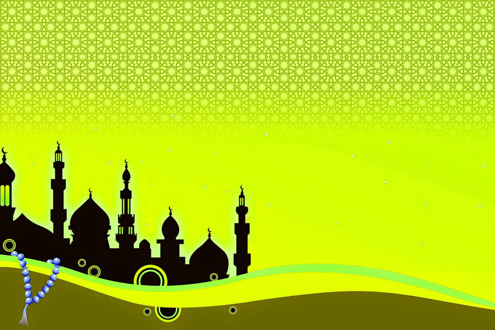 Gambar Desain Background Gambar Islami Pas Buat Banner