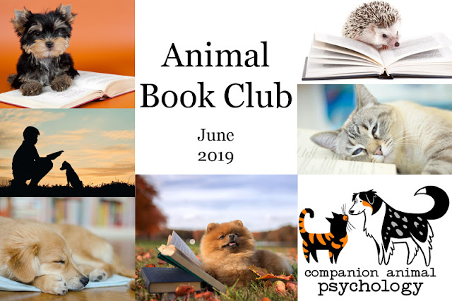 Animal Book Club banner for June's book: Once a Wolf