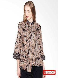 model baju batik atasan sarimbit terbaru