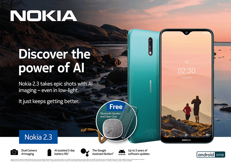 Features of Nokia 2.3