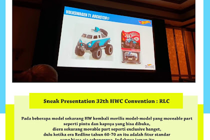 Sneak Presentation 32th HWC Convention : RLC